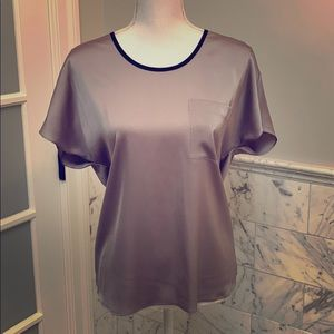 Halogen holiday blouse small silk like